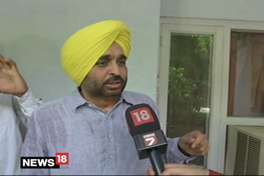 Parliamentary Panel Recommends AAP's Bhagwant Mann be Suspended for a Day