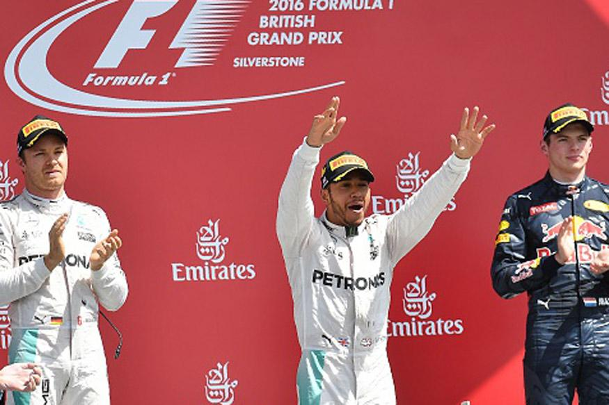 Hamilton storms to British Grand Prix victory