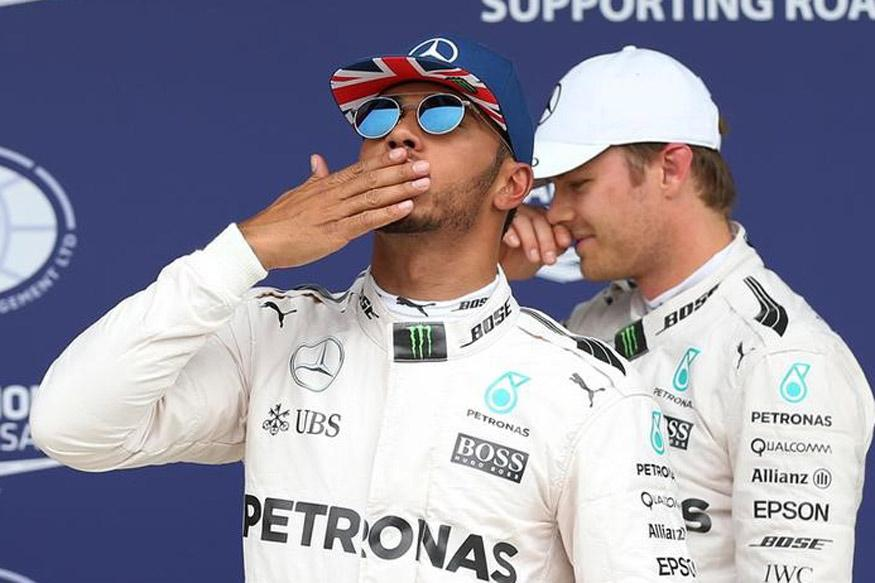 Lewis Hamilton on Pole for Mercedes at the British Grand Prix