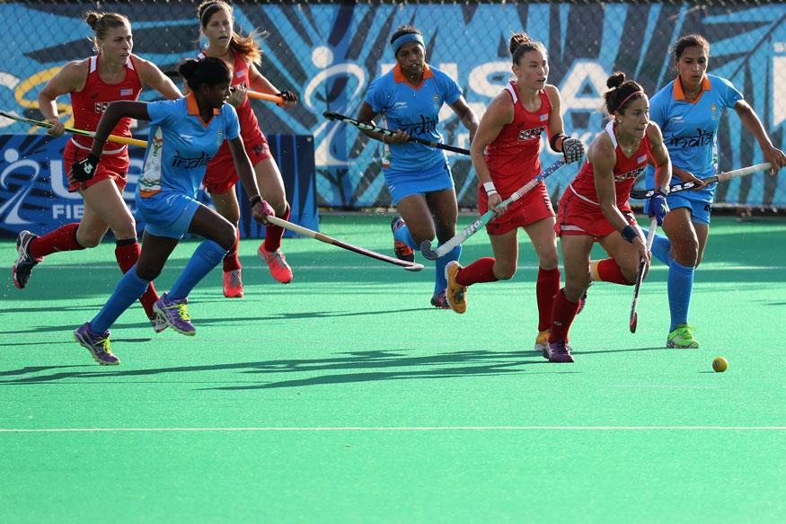 Women's Hockey: India Register Come-From-Behind Win Over USA