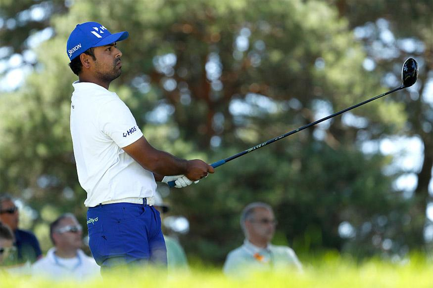 Anirban Lahiri Tied First After Second Round in Macau