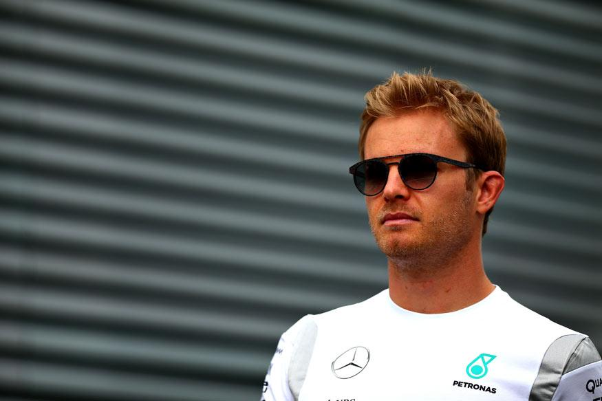 Lizard in the Limelight As Nico Rosberg Laps Fastest in Singapore