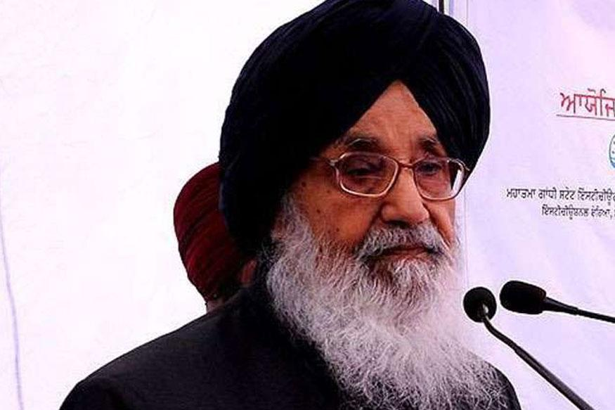 Punjab CM Badal Terms AAP a Party of 'Hollow Slogans, False Promises'