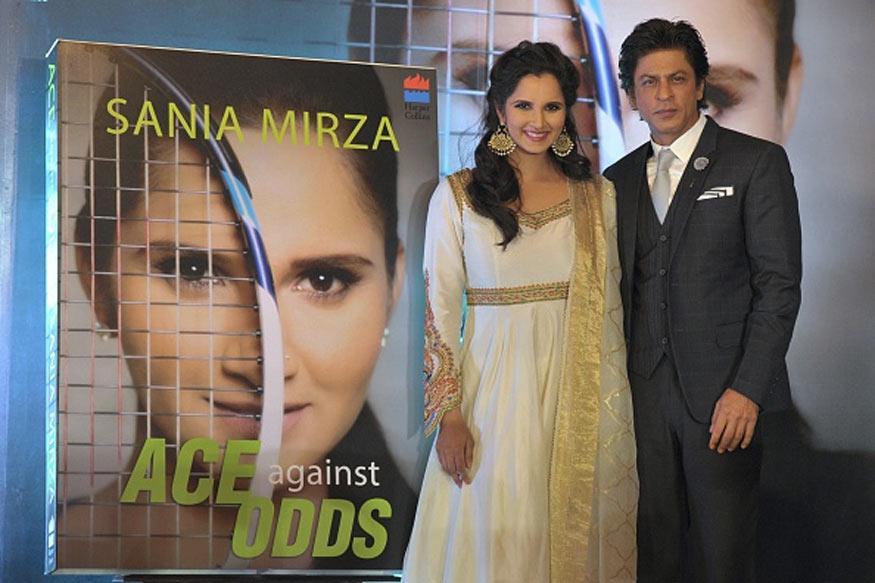 Shah Rukh Khan Launches Tennis Star Sania Mirza's Autobiography