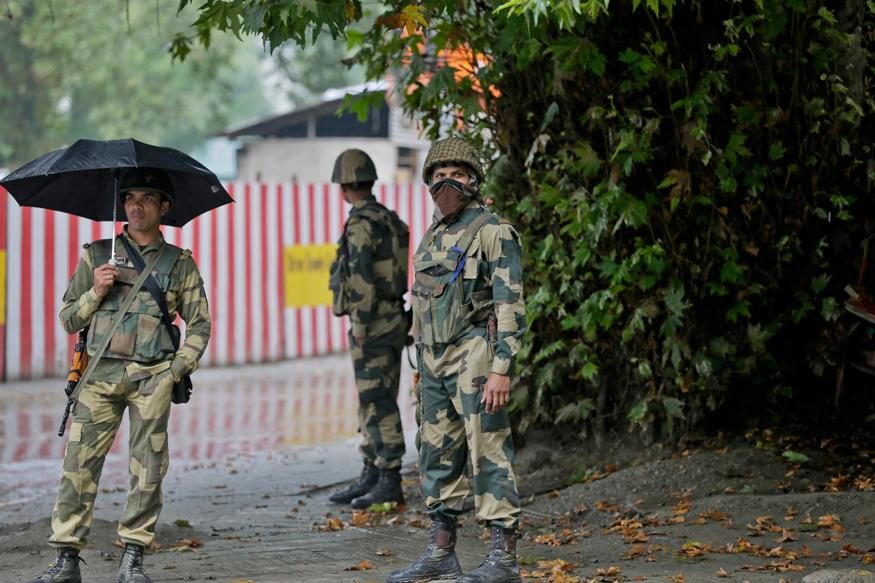 Security Forces Recover Chinese Flags at Militant Hideouts in Kashmir