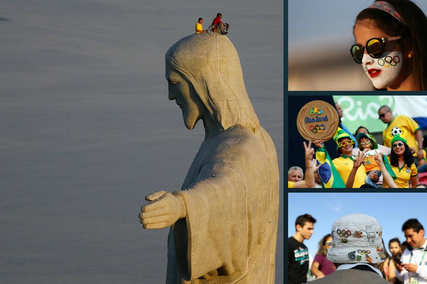 Fans Welcome the Games on Day 1 of Rio Olympics