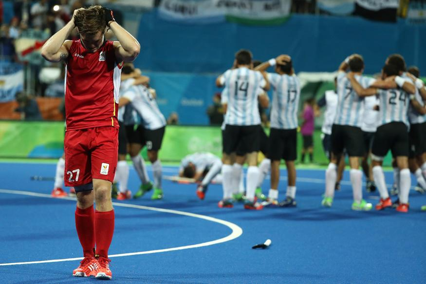Rio 2016: Argentina Hold Off Belgium to Take Men's Hockey Gold