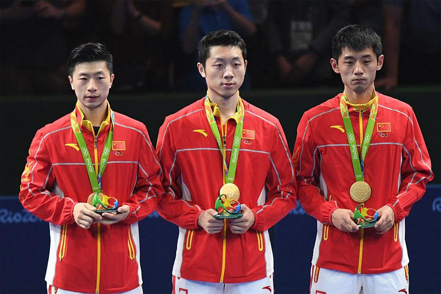 Rio 2016: China Win Men's Team Table Tennis Gold - News18