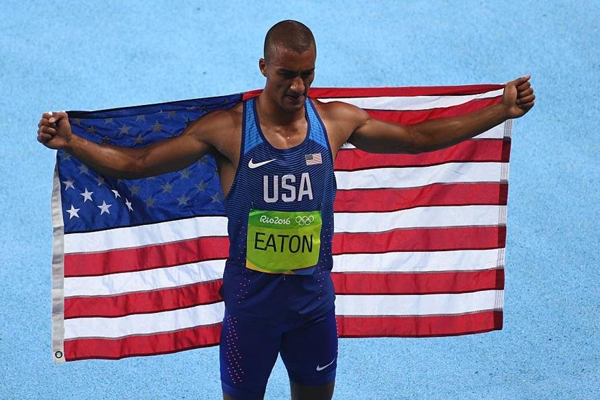 Central Oregon's Own Local Ashton Eaton Wins GOLD!
