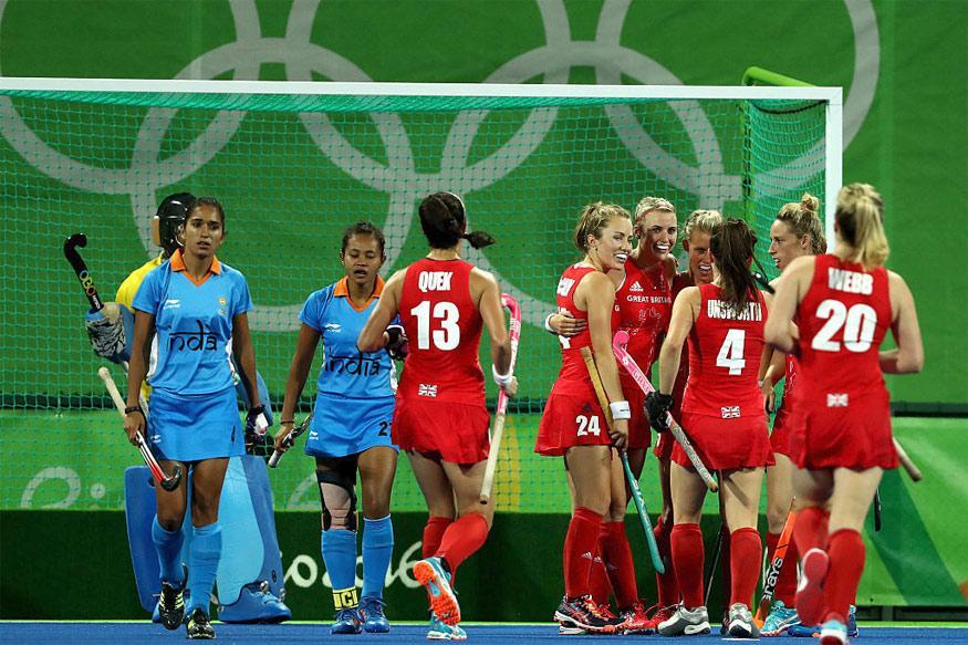 Rio 2016: Great Britain Outclass India 3-0 in Women's Hockey