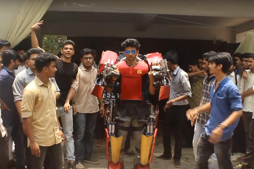 An Indian Student Created This Totally Awesome 'Iron Man' Suit