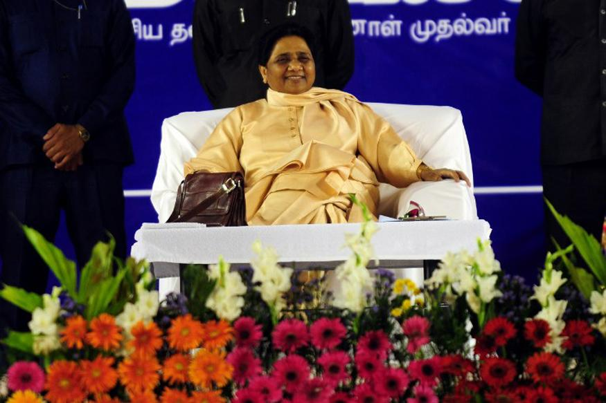 BSP supremo Mayawati strongly attacks Congress, BJP in her rally at Agra