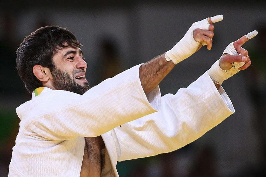 Beslan Mudranov Secures Russia's First Gold Medal in Rio