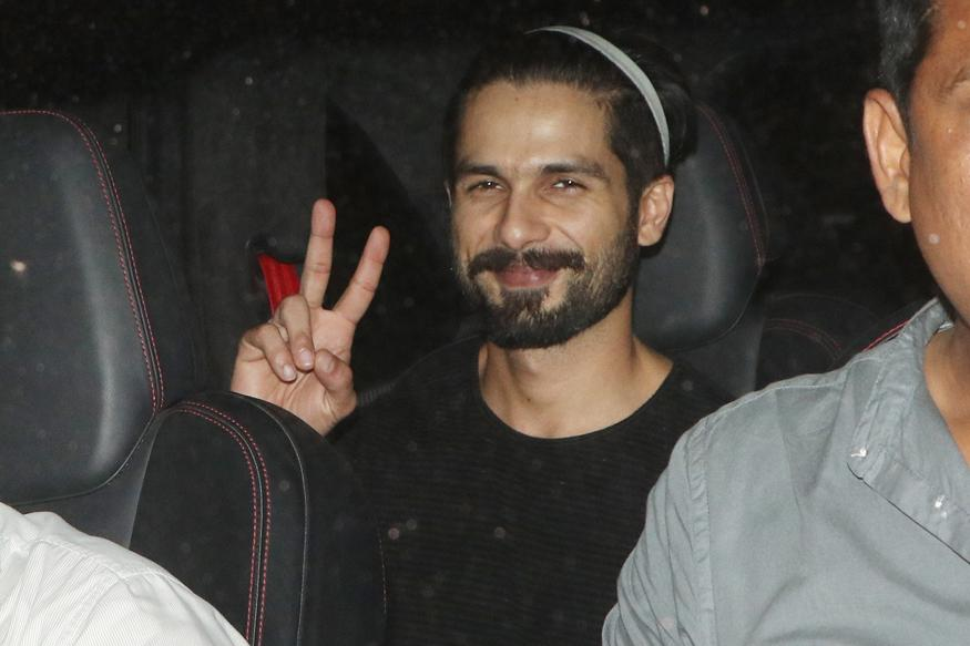 Shahid Kapoor Starts Shooting for Padmavati