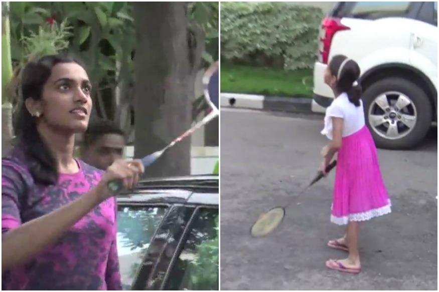 PV Sindhu Playing Badminton With This 7-Year-Old Is The Sweetest Thing