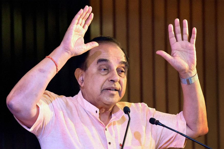 Subramanian Swamy Urges Rajnath to Impose President's Rule in Tamil Nadu