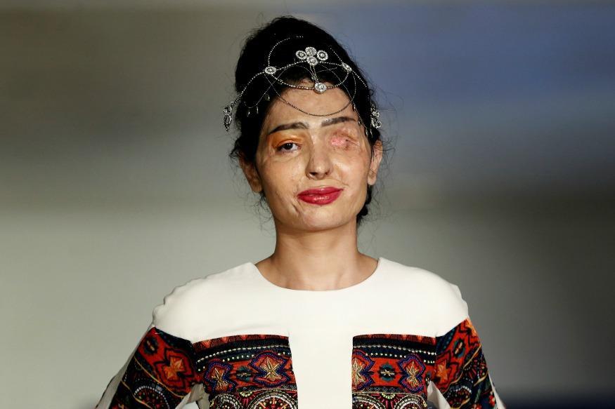 Reshma Qureshi Slayed It On The New York Fashion Week Runway