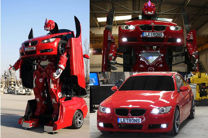 This BMW Transformer by Letrons is Real and Has all the Coolness by its Side