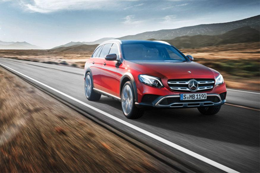 Mercedes-Benz E-Class All-Terrain Unveiled, to Debut at Paris Motor Show