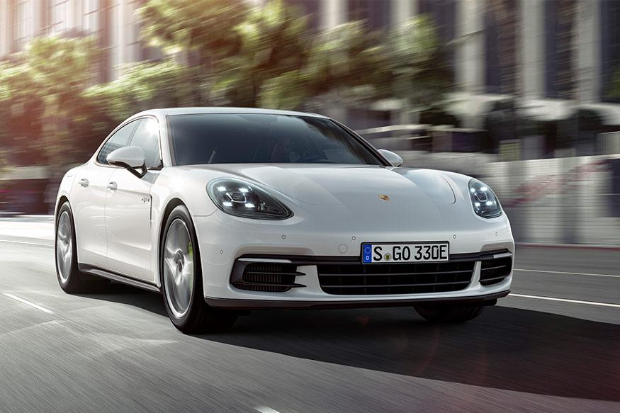 Porsche Panamera Goes Electric As the 4 E-hybrid, to Be Unveiled at the Paris Motor Show