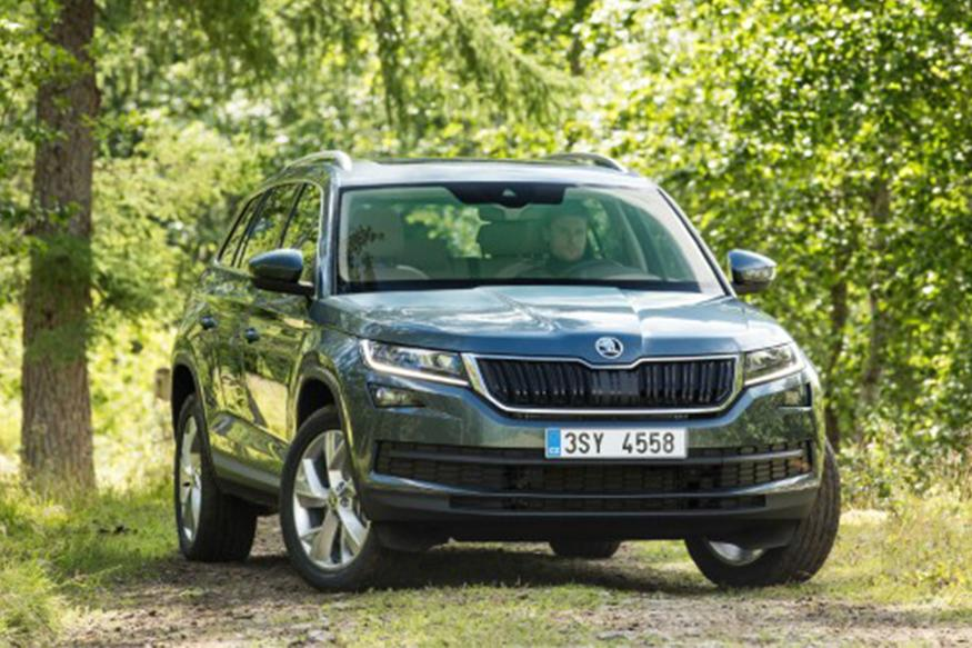 skoda kodiaq makes global debut expected launch in india in 2017 news18. Black Bedroom Furniture Sets. Home Design Ideas