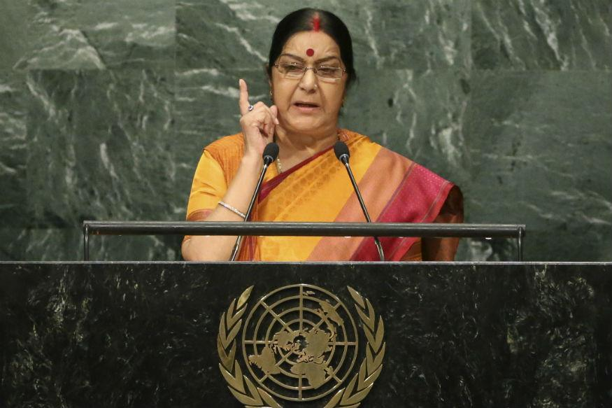 Sushma Swaraj's Warning to Amazon: Take Down Products Insulting Indian Flag or We'll Revoke Visas