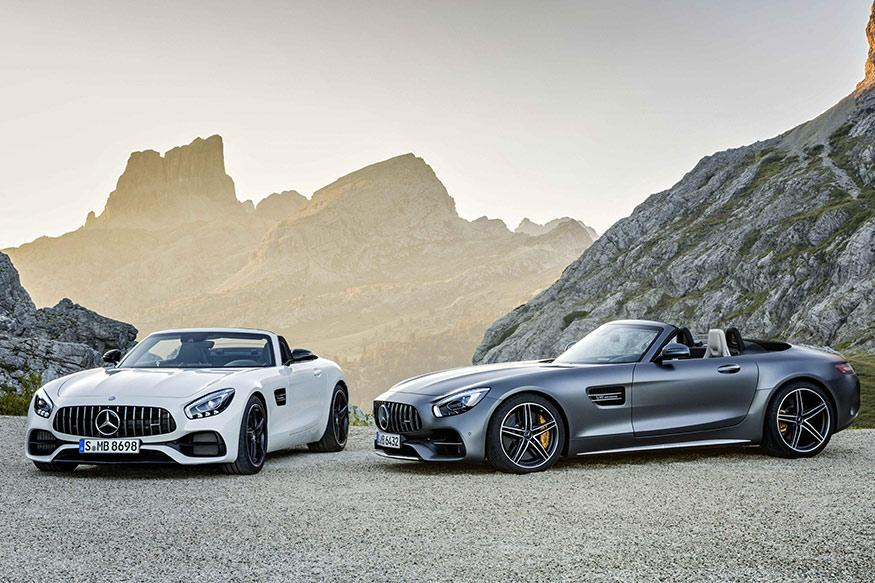 Mercedes-AMG GT & GT C Roadster Unveiled Ahead of Paris Motor Show Debut