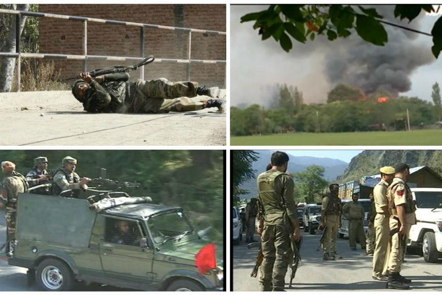 Uri Terrorists Scaled LoC Fence Using a Ladder