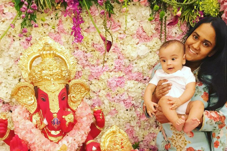 Salman Khan's Nephew Ahil Looks Adorable As He Celebrates His First Ganesh Chaturthi