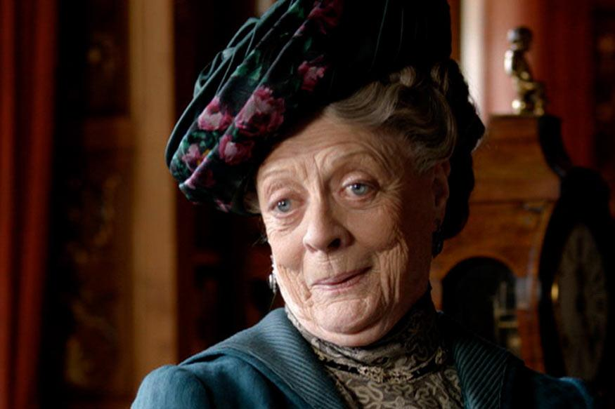 Maggie Smith Accepts Emmy Award, Responds to Jimmy Kimmel's Jokes