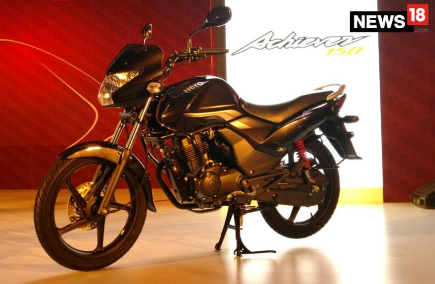 Hero Achiever 150 with BS-IV Rating Launched at Rs 61,800