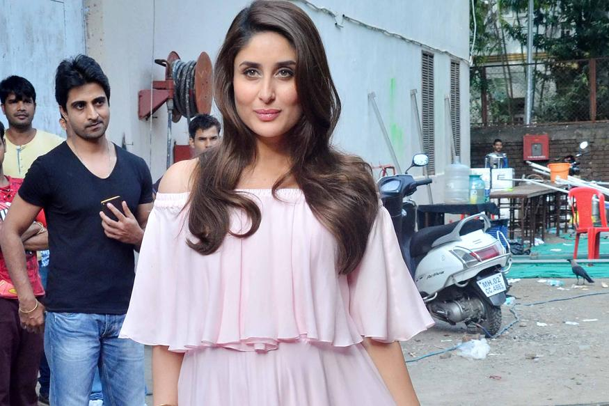 Mommy-to-be Kareena Kapoor Glows In A Pink Off-Shoulder Dress