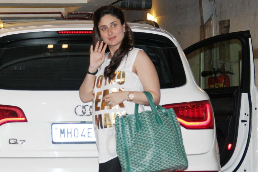 Mom-to-be Kareena Kapoor Khan Keeps Her Look Casual For Her Recent Public Appearance