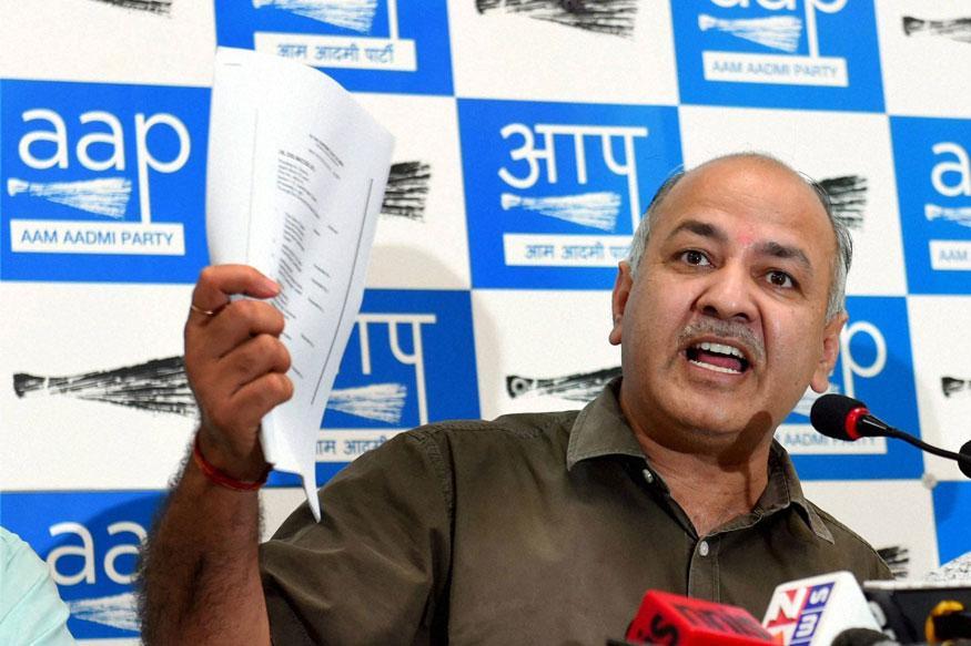 Manish Sisodia Flays Amit Shah For Attacking Arvind Kejriwal