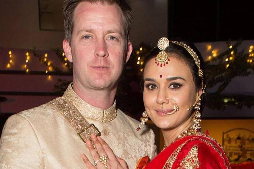 Preity zinta gene goodenough wedding pictures are out and the couple