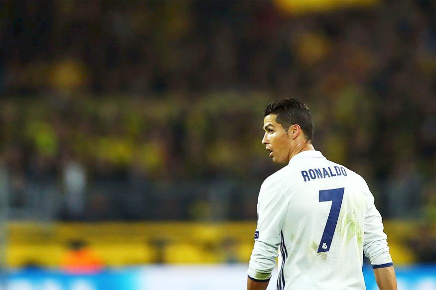 Cristiano Ronaldo's Private Plane Crashlands in Barcelona
