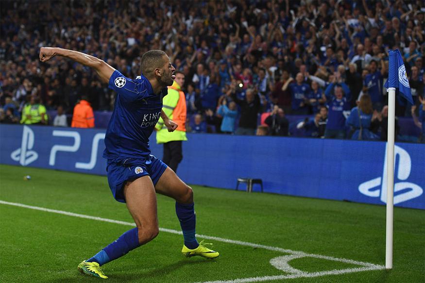 Champions League: Islam Slimani Scores As Leicester City Beat Porto