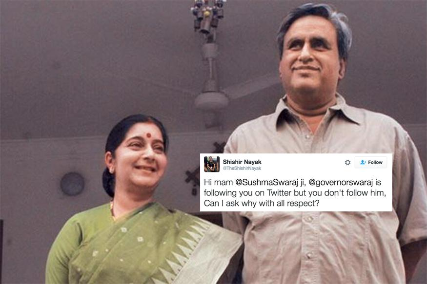 Sushma Swaraj and Her Husband Are Total Relationship Goals