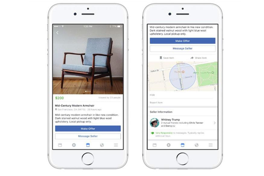 Facebook Launches its Own Version of Craigslist With Marketplace