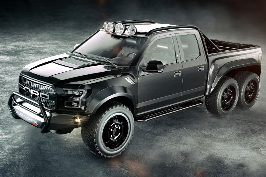 Hennessey VelociRaptor 6x6 Is Here to Challenge the Mercedes-AMG G63 6x6