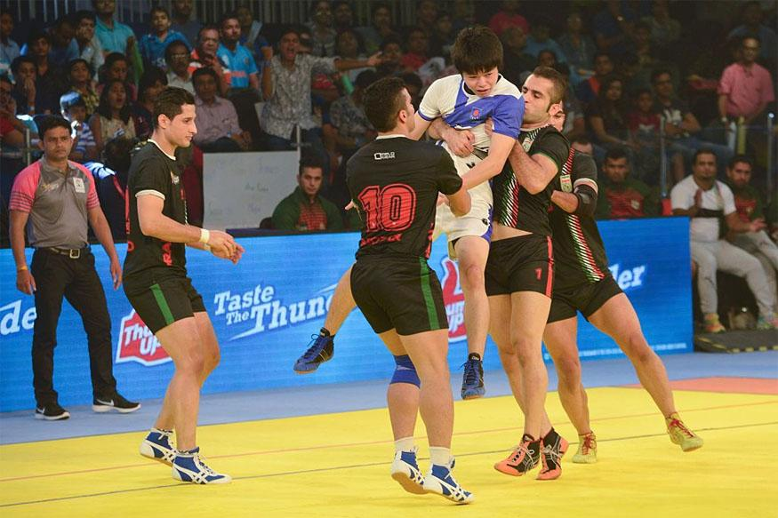 Kabaddi World Cup 2016: Iran Beat Japan to Continue Winning Run