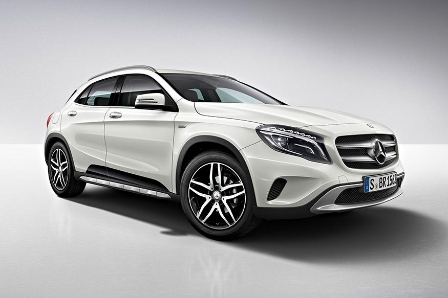mercedes benz gla 220 d 4matic activity edition launched at rs 38 5 lakh news18. Black Bedroom Furniture Sets. Home Design Ideas