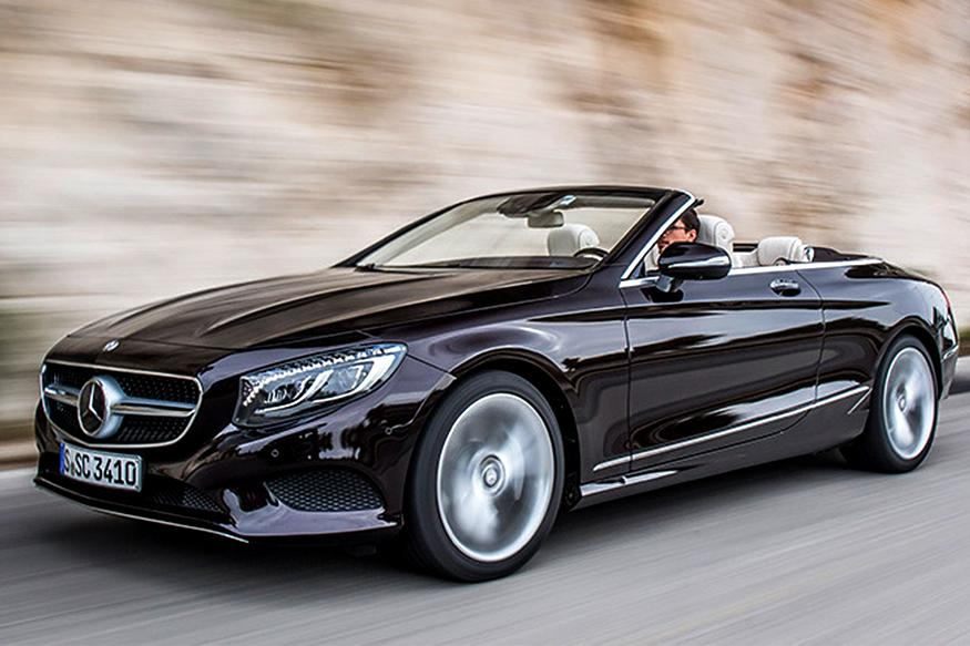 Mercedes-Benz S-Class Cabriolet and C-Class Cabriolet Launched in India