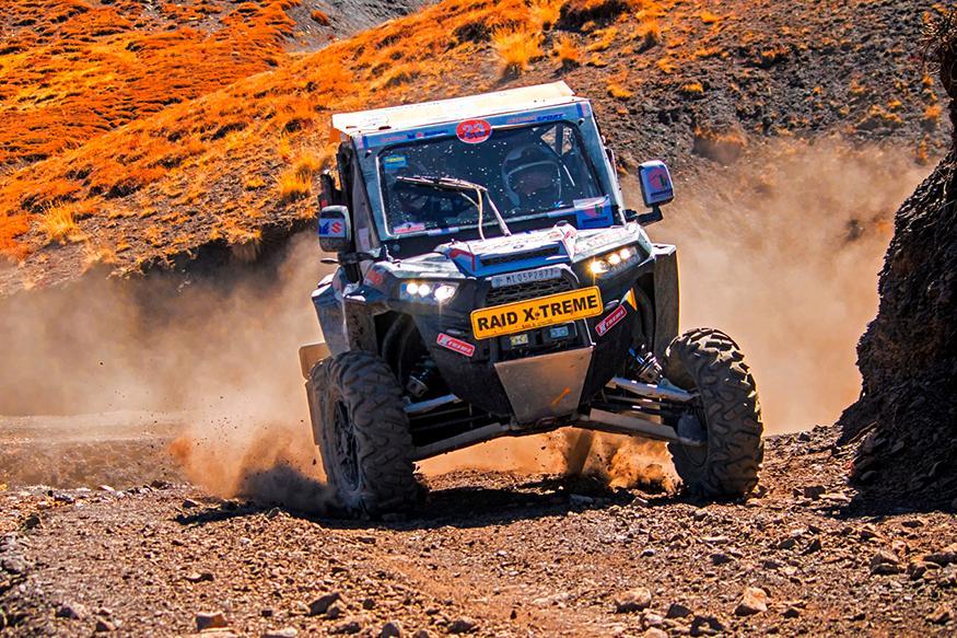 Polaris India Wins Class 7 Category of 4X4 Extreme at Raid De Himalaya