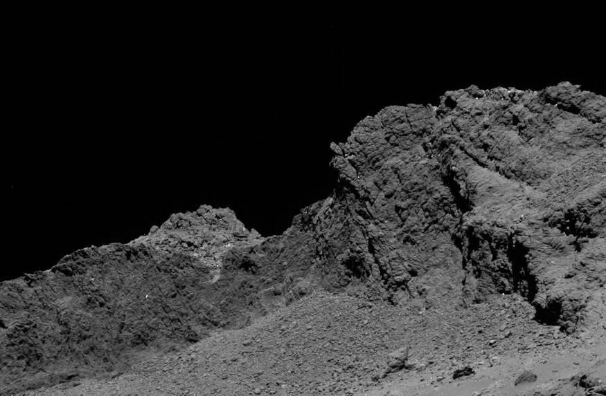 Comet-chasing space probe Rosetta concludes 12-year-mission