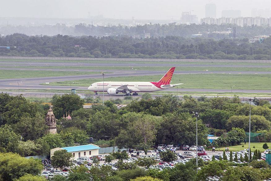 Air India Plane Suffers Tyre Burst; Passengers Safe