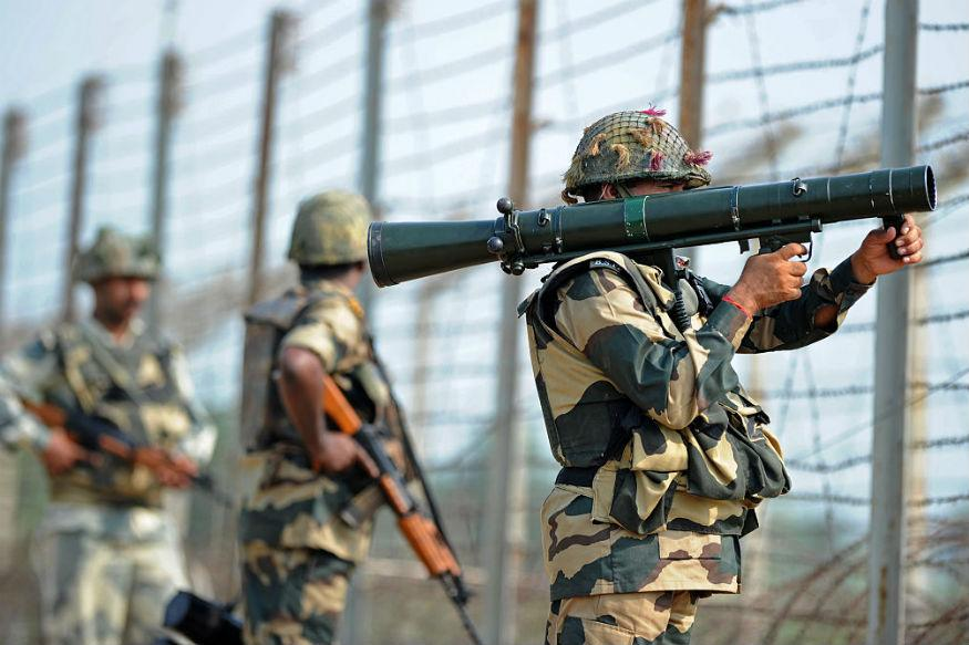 Image result for BSF jawan injured as Pakistan again violates ceasefire along LoC in Jammu & kashmir