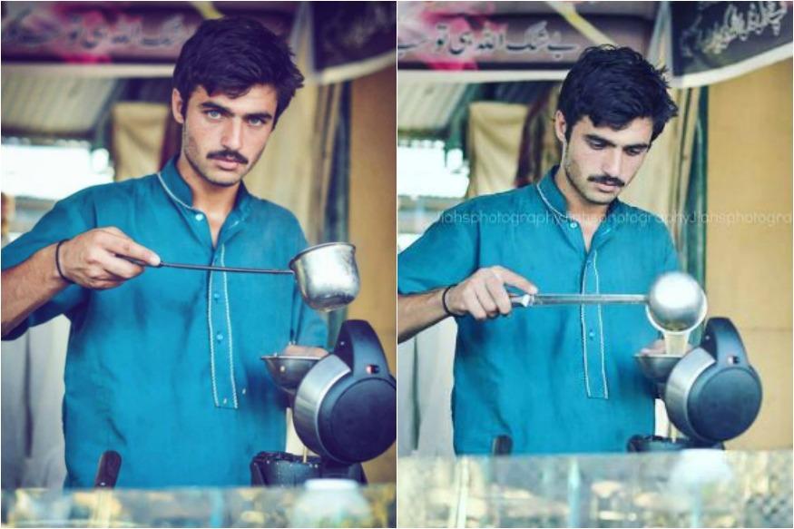 Move Over Fawad Khan, A Blue-Eyed Pakistani Chaiwala Is Internet's Latest Crush