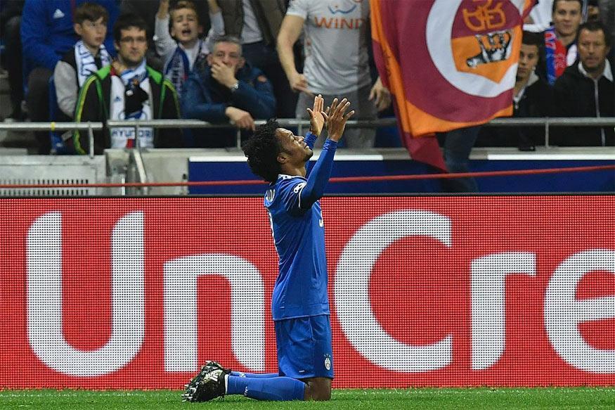 Champions League: Juan Cuadrado Strikes as 10-man Juventus Sink Lyon