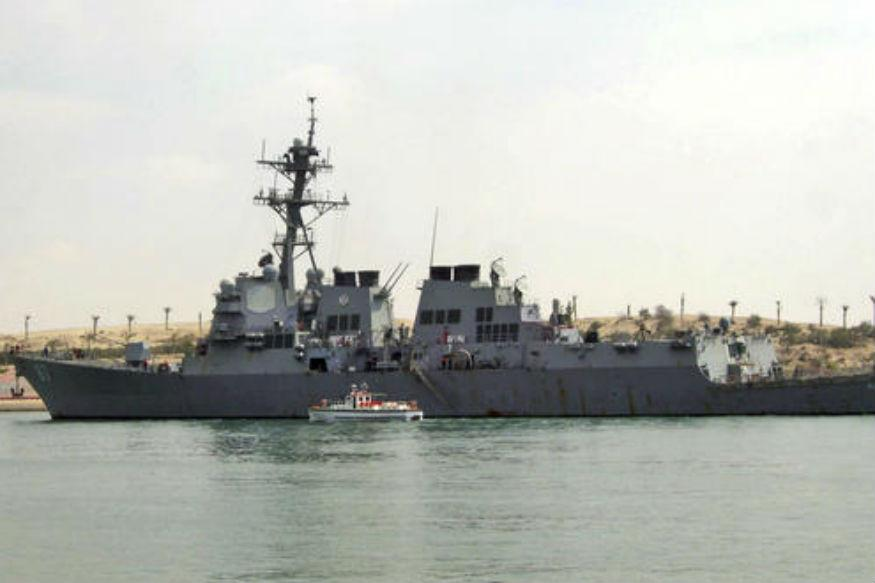 Missiles Fired From Yemen Land Near American Destroyer in Red Sea